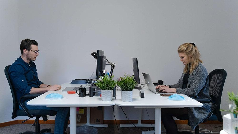 werving en selectie team op kantoor